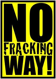 No Fracking Way!