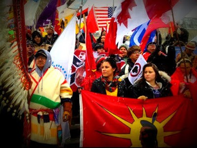 Idle No More Rallies Are Being Held Throughout Canada