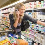 Soon shoppers will be able to call home on their cell phones from Country Grocer!