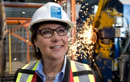 "BC Premier Christy Clark touts ""world-class"" safety for fossil fuel projects (Canadian Press)"