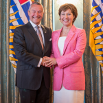 Peter Fassbender Christy Clark