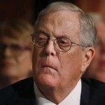David Koch, executive vice president of Koch Industries, attends an Economic Club of New York event in New York