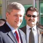 Harper and Supt. Bruno Saccomani.jpg