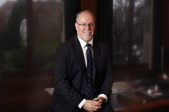 B.C. NDP Leader, John Horgan is photographed in his office at Legislature in Victoria, B.C., Friday December 5, 2014. THE CANADIAN PRESS/Chad Hipolito