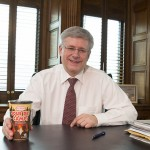 Harper-Tim-Hortons-Coffee-Cup