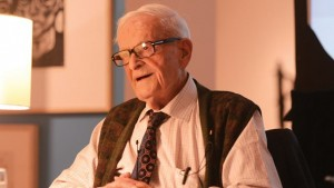 OSHAWA -- Harry Leslie Smith was the guest speaker at Stand Up for Progess National Tour, hosted by the Broadbent Institute, at the Robert McLaughlin Gallery. July 29, 2015