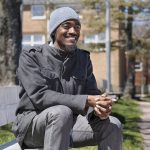 Lindell Smith, community activist and political hopeful, is shown in Halifax on Friday, April 29, 2016.THE CANADIAN PRESS/Andrew Vaughan