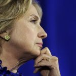 Democratic presidential candidate Hillary Rodham Clinton listens during a forum on substance abuse, Thursday, Oct. 1, 2015, in Boston. (AP Photo/Steven Senne)